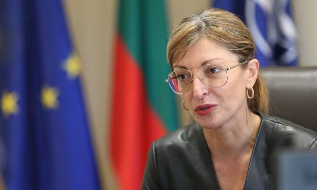 Захариева: С мен не се водят разговори да бъда премиер