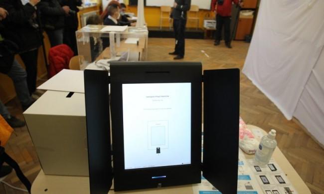 Машинното гласуване затруднило работата на секциите