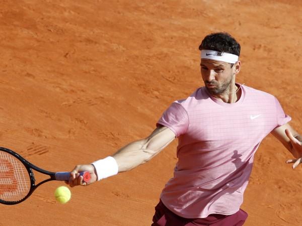 Най-добрият български тенисист Григор Димитров започна с победа участието си