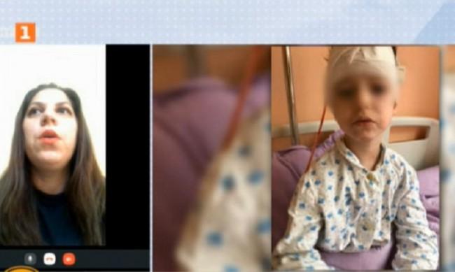 С множество рани, операция... Питбул нахапа момиченце в София