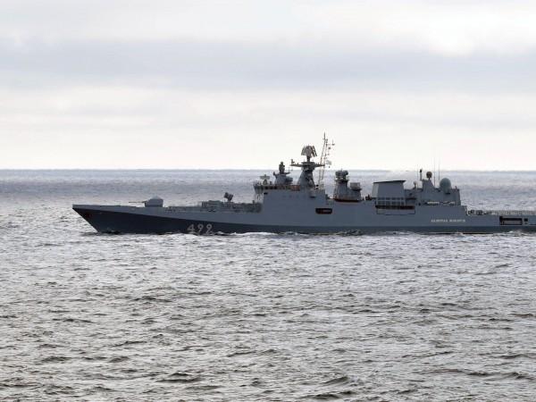 Руският черноморски флот започна учения в Черно море с използването