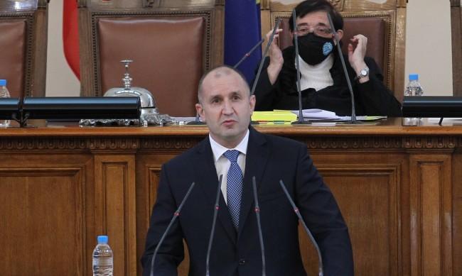 Радев започва консултациите за правителство на 19 април