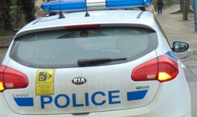 Арест за полицай в Студентски град