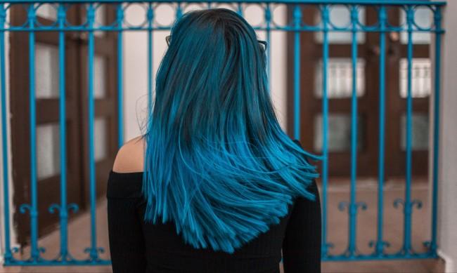 Тенденция: Коса в ледено синьо