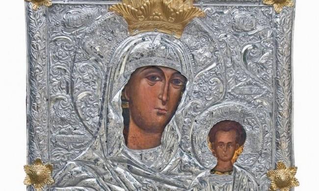 """За рожба: Празник е на чудотворната икона """"Св. Богородица"""""""