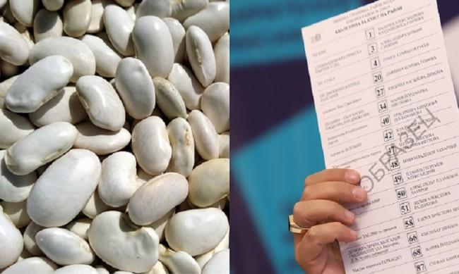 Минало БГ: Бял боб вместо бюлетина и избори по цял месец