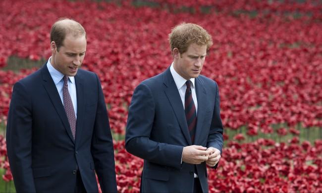 Хари и Уилям няма да са един до друг на погребението
