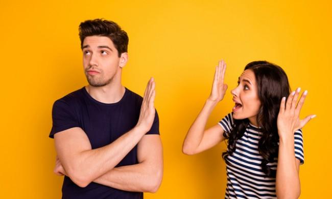 6 грешки, които партньорите допускат по време на спор