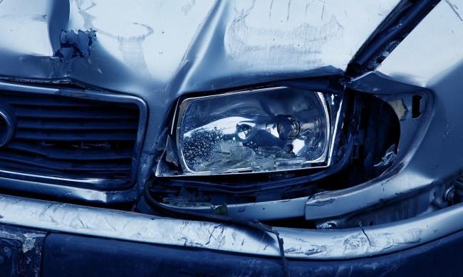 Верижна катастрофа в Кресненското дефиле, има ранена