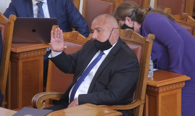 Борисов обяви състава на правителството, Митов е кандидат за премиер