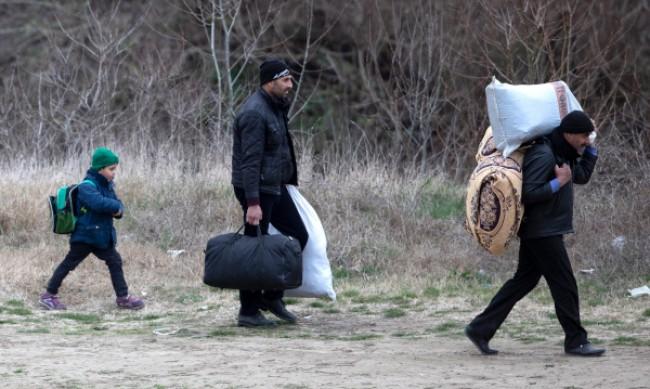 Турската жандармерия хвана мигранти на границата с България