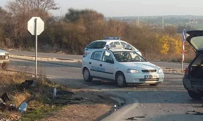 Пиян шофьор предизвика катастрофа в Кранево