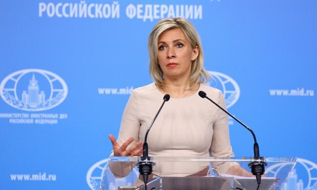 """Захарова: Чехия прекрачи """"червените линии"""" за които говори Путин"""