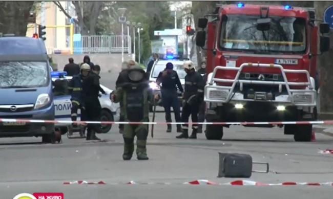 Обезвредиха изоставен съмнителен багаж в Бургас