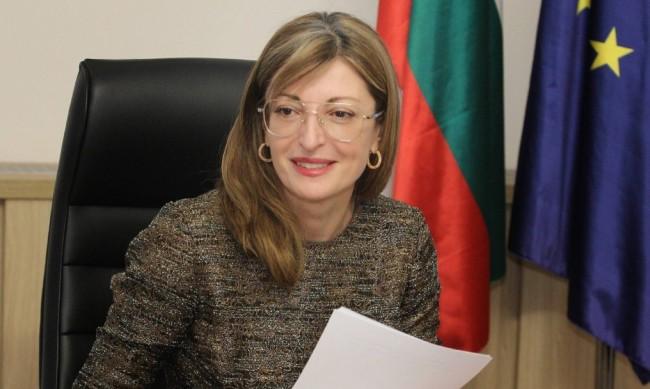 Захариева: ГЕРБ ще е опозиция, няма нищо ненормално в това