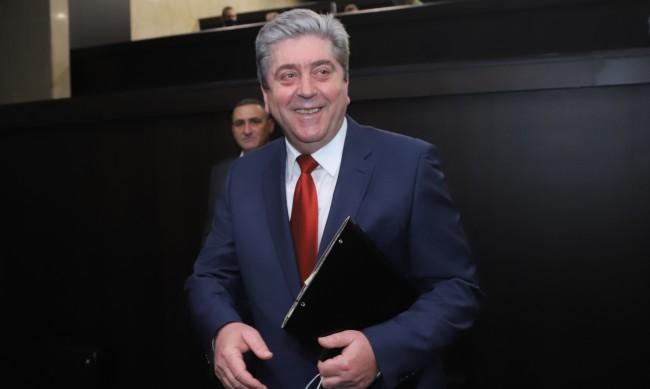 Георги Първанов: Слави Трифонов има държавническо мислене