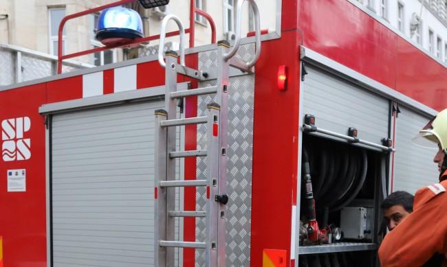 "Хора помагат на пострадалите при пожара в ""Хиподрума"""