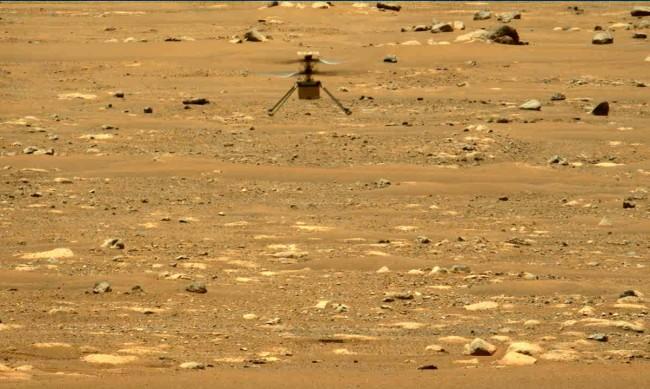 Хеликоптерът Ingenuity постави нов рекорд на Марс