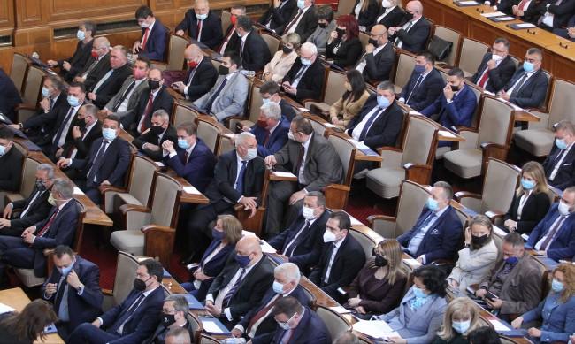 Прецедент в НС! За пръв път депутатите не приеха дневния си ред