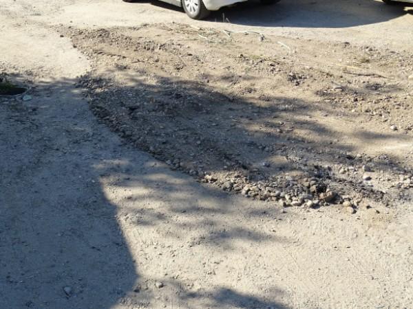 """Жители на Перник недоволстват заради разбити улици. През ул. """"Люлин"""""""