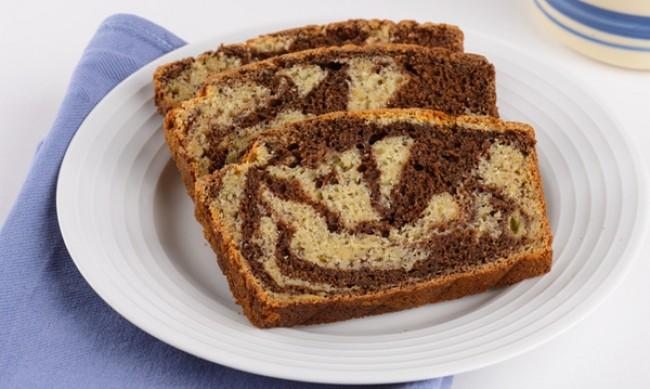 Рецептата Dnes: Мраморен какаов кекс с банани