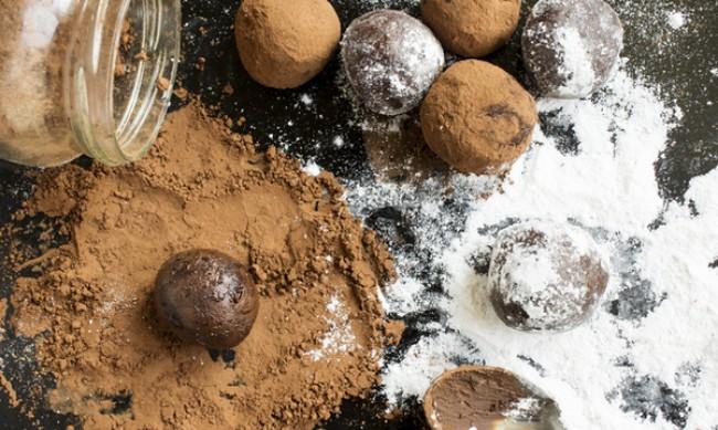Рецептата Dnes: Веган шоколадови трюфели с кокосово мляко