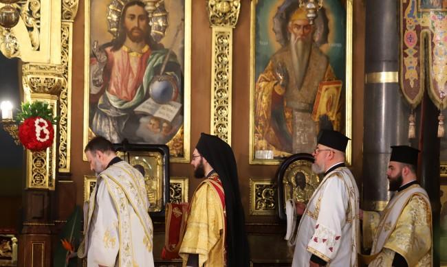 "Празнично богослужение за Второ Възкресение в ""Св. Неделя"""