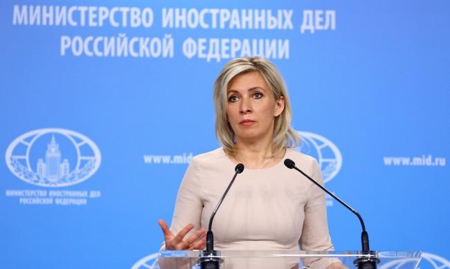 Захарова: Великобритания обвинява Русия в собствените си грехове