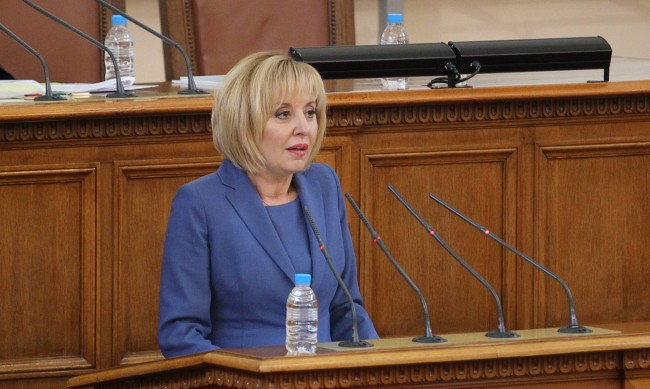 Манолова: Депутатите от ГЕРБ са сковани от страх заради ревизията