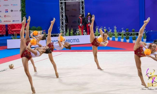 Злато за българския ансамбъл в Баку