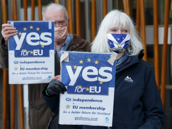 Независимостта на Шотландия отново е на дневен ред само седем