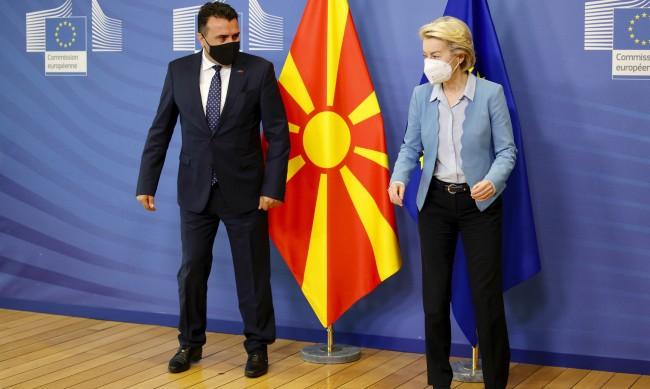 Заев в Брюксел: Без преговори за македонския език и идентичност