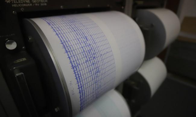 Леко земетресение снощи край Пловдив