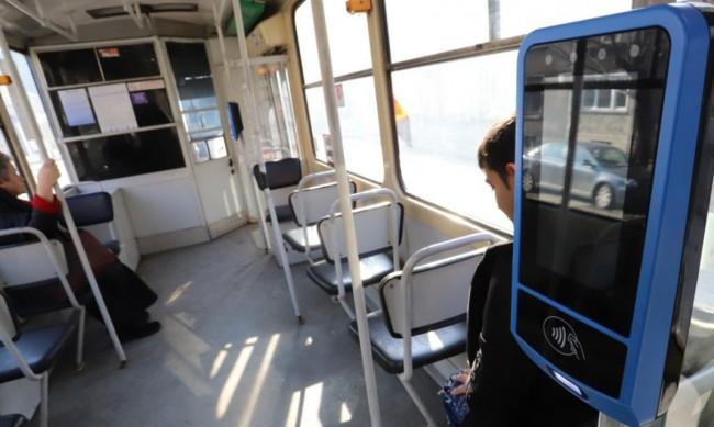 Безконтактно плащане тръгва в градския транспорт в София