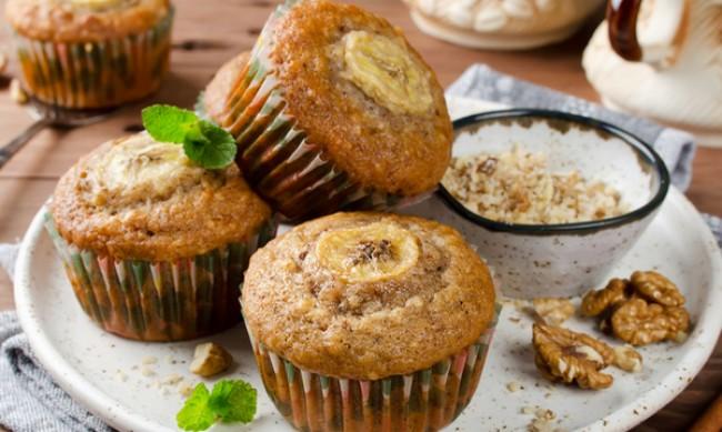 Рецептата Dnes: Бананови мъфини с шоколад и кокосово брашно