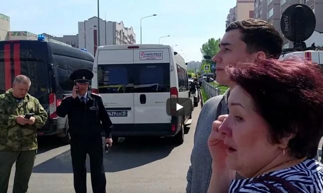 Убиецът от училището в Казан стрелял със законно оръжие