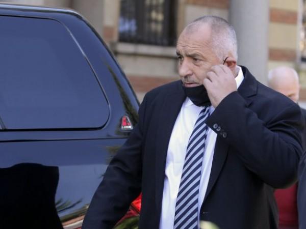 Премиерът в оставка Бойко Борисов и лидер на ГЕРБ очерта