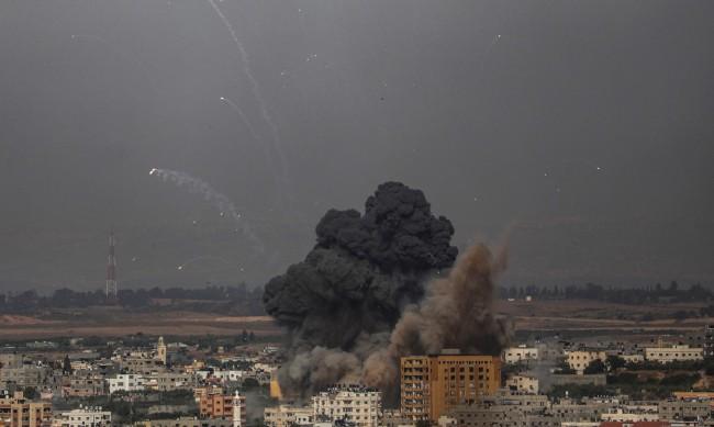 Десетки жертви на въздушните удари между Израел и Ивицата Газа