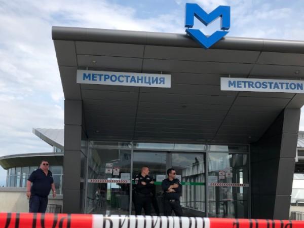 Съпругът на простреляната 56-годишна жена в метрото твърди, че нападателят