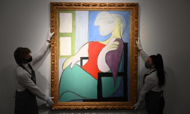 Картина на Пикасо продадена на търг за над $100 млн.