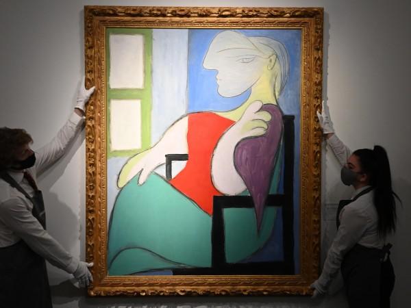 """На търг в аукционна къща """"Кристис"""" в Ню Йорк картина"""