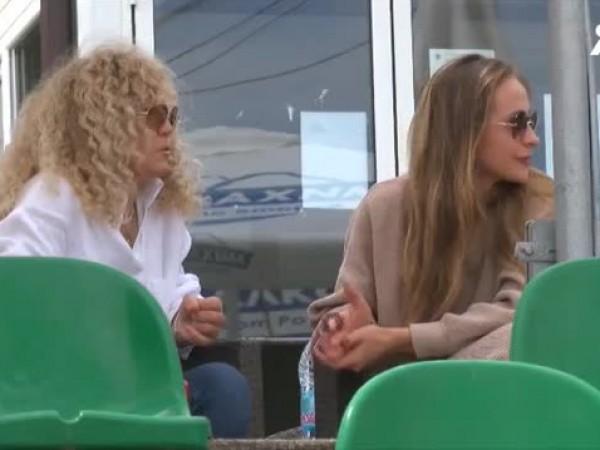 Най-добрият ни тенисист Григор Димитров заведе приятелка си Лолита Османова
