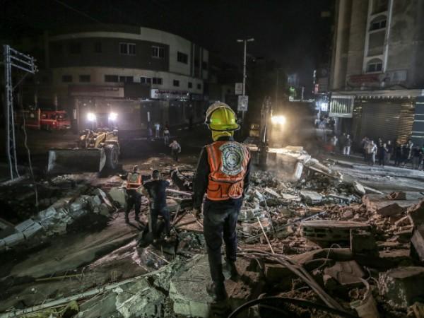 """Домът на лидера на политическото бюро на палестинското движение """"Хамас"""""""