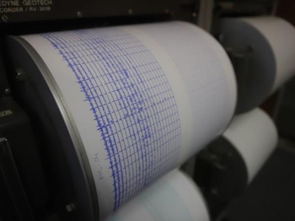 Земетресение с магнитуд 3.4 по Рихтер е регистрирано тази сутрин