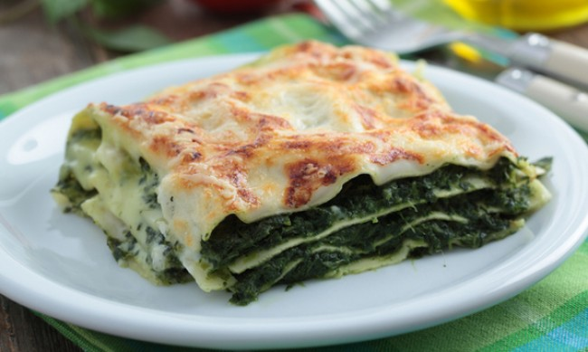 Рецептата Dnes: Лазаня със спанак