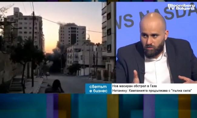 Политолог: Ракетният обстрел в Газа е само върхът на айсберга