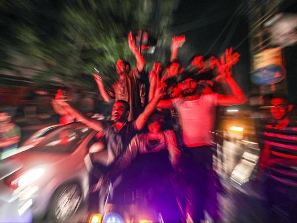 Снимки: БГНЕСИзраел и палестинската група Хамас се съгласиха на прекратяване