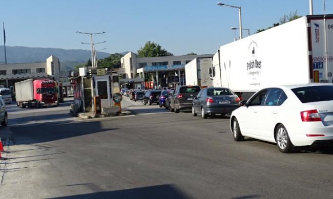 Напливът към Гърция продължава и днес, очаква се засилен трафик