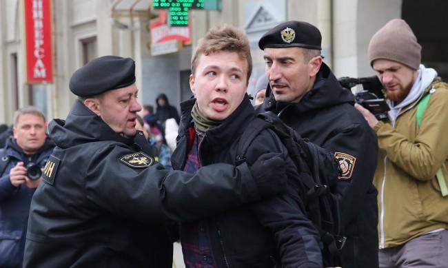 """Протасевич """"откачил"""", когато разбрал, че самолетът му каца в Беларус"""