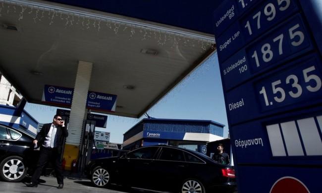 Бензинът поскъпнал с 21% в Гърция за година